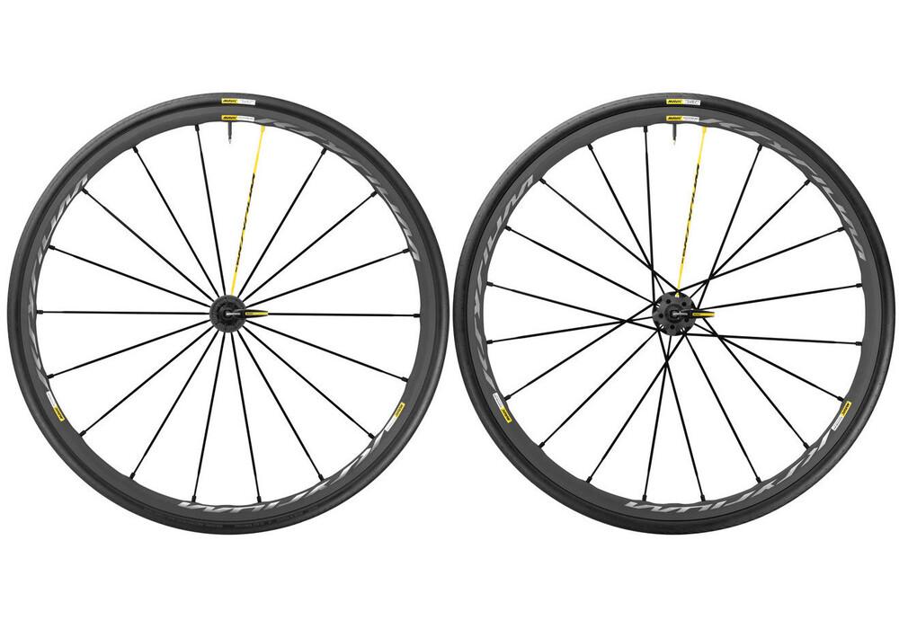Mavic Ksyrium Pro Exalith hjul Shimano 25 svart - till fenomenalt pris på Bikester